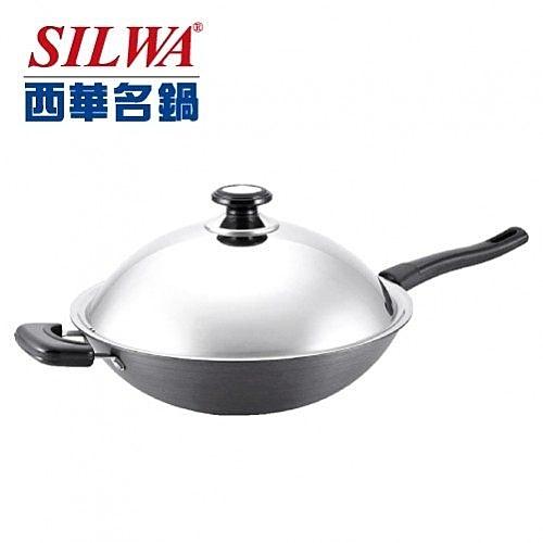 西華37CM超硬陽極炒鍋(單柄)