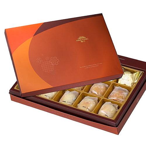 御藏 綜合13入禮盒(綠豆椪*2+純綠豆椪*2+鳳梨酥*9)
