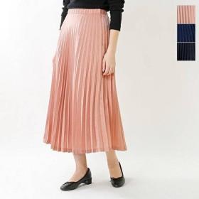 Ballerina Pink バレリーナピンク サテンヴィンテージプリーツスカート 183200