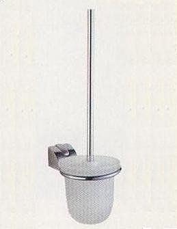 【麗室衛浴】馬桶刷架(含玻璃杯)  (J56)