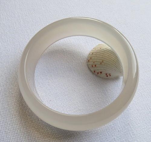 天然玉髓手鐲 #0333 58mm