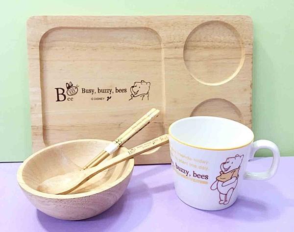 【震撼精品百貨】Winnie the Pooh 小熊維尼~馬克杯~附木製餐具#10755