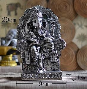 【協貿國際】工藝品像神象鼻財神印度古神像