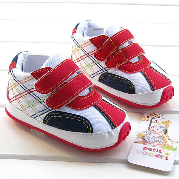[韓風童品] ~特價~出口歐美新款 運動鞋款學步鞋 彩色拖鞋鞋 嬰兒保暖鞋  周歲送禮