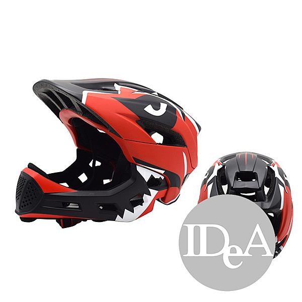 IDEA 兒童自行車安全帽 恐龍造形 透氣 腳踏車 滑步車 全盔 半盔 全罩 半罩 幼兒