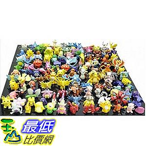 [網站限時促銷價] 神奇寶貝 精靈寶可夢 Pokemon Action Figures 144-Piece B07V4SRJJV