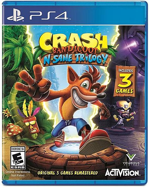 預購2018年7月 PS4 袋狼大進擊 瘋狂三部曲 亞版 英文版
