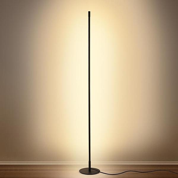 極簡創意落地燈臥室客廳個性氛圍燈北歐簡約led立燈地燈落地台燈 ciyo黛雅