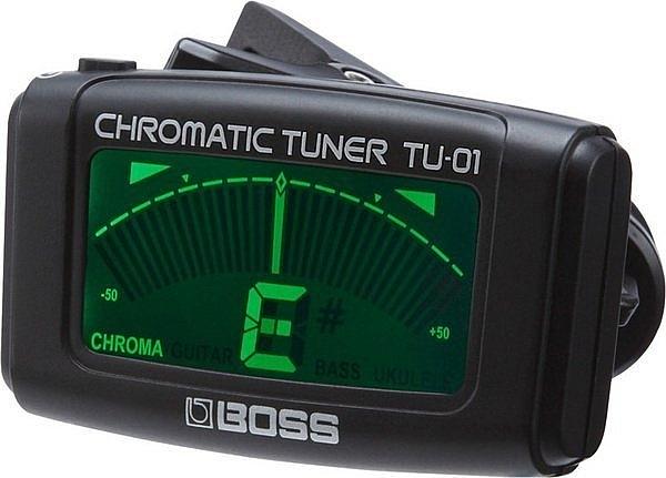 ☆ 唐尼樂器︵☆全新 BOSS TU-01 夾式調音器 可調吉他/貝斯/烏克麗麗/小提琴 TU1 TU01