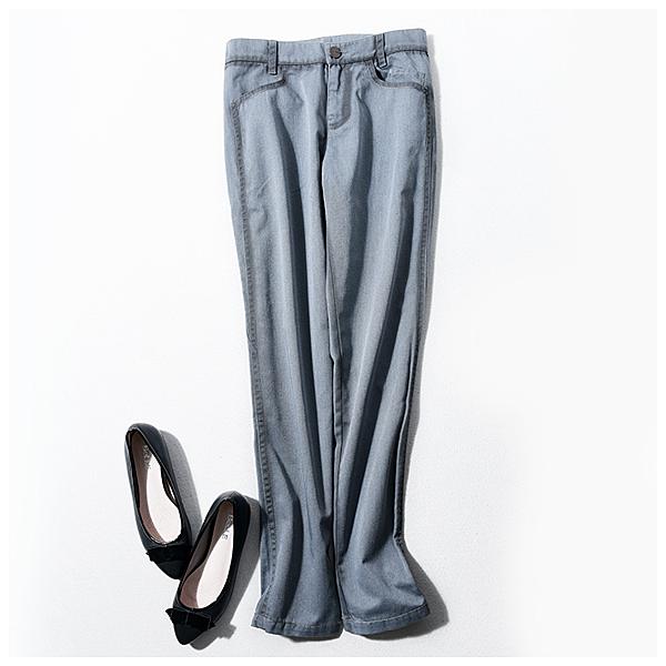 [超豐國際] Z 優質,小眾~水洗棉 小腳長褲 女 704Y
