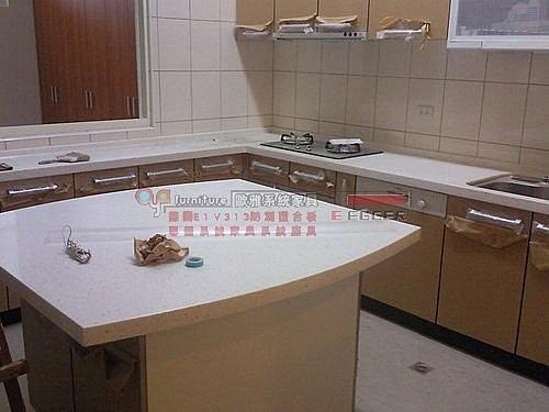 【歐雅系統家具】多功能LG人造石檯面廚櫃