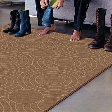 范登伯格-萊富渡假風羊毛編織地毯-圈圈(深)160x240cm