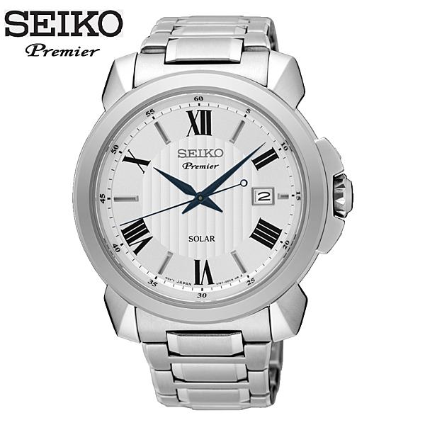 SEIKO 精工錶 SNE453J1環保太陽能 光動能 Premier V157-0BZ0S 43mm公司貨