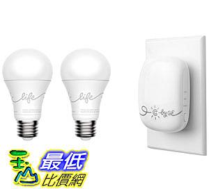 C by GE Voice-Control C-Life Starter Kit (2 C-Life Smart LED Light Bulbs + C-Reach