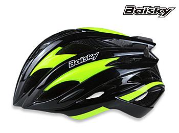 BAISKY  自行車 安全帽 第一代輕量級安全帽 螢光黃 百士奇 運動王【162501000101】