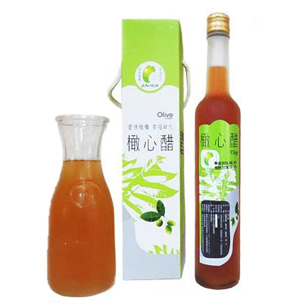 礁坑橄心醋375ml/罐(橄欖製成)