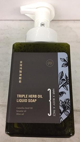 全效型天然冷製液態皂(適髮.臉.身體) 400ml/瓶*10瓶