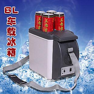 6L迷你車載冰箱 車家兩用行動冰箱 製冷制熱