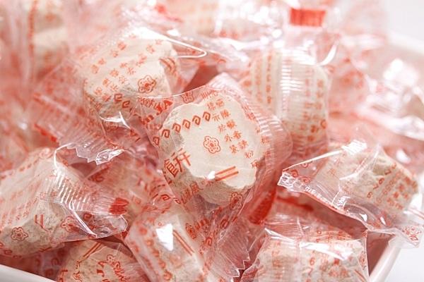 年貨大街 ‧蜜餞/果乾‧ 梅花仙楂餅/仙楂梅(單顆包裝仙楂餅) 300g(半斤)【合迷雅好物超級商城】