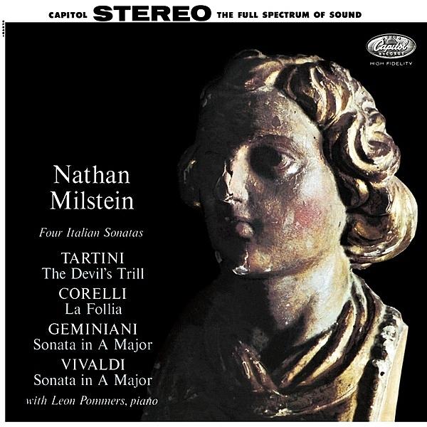 【停看聽音響唱片】【黑膠LP】四首義大利奏鳴曲 / 米爾斯坦(小提琴)、雷奧.波門爾斯 (鋼琴)