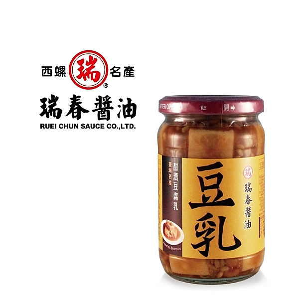 瑞春.甜酒豆腐乳(380g/入,共6入)﹍愛食網