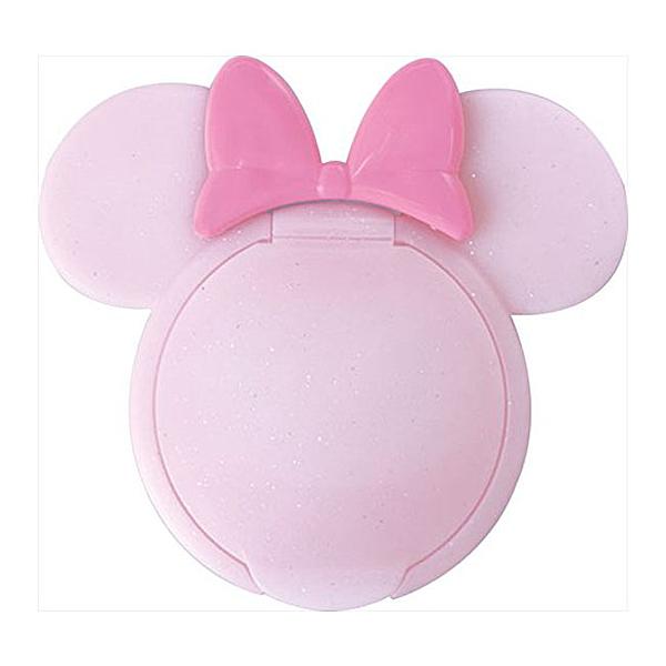 日本 迪士尼 Disney 米妮重覆黏貼濕紙巾專用盒蓋/濕巾蓋-粉X亮片