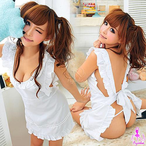 奶油甜心!純愛小廚娘二件組 角色扮演服 愛的蔓延 12030097