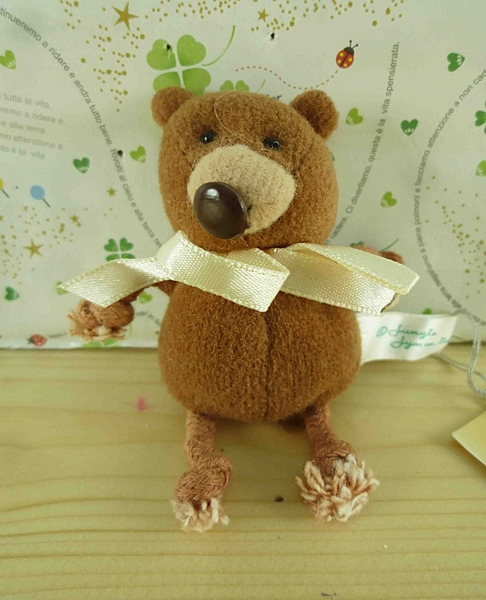 【震撼精品百貨】泰迪熊_Teddy Bear~絨毛娃娃-咖啡色