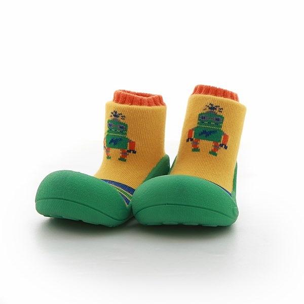 韓國 Attipas 快樂腳襪型學步鞋-跳舞機器人