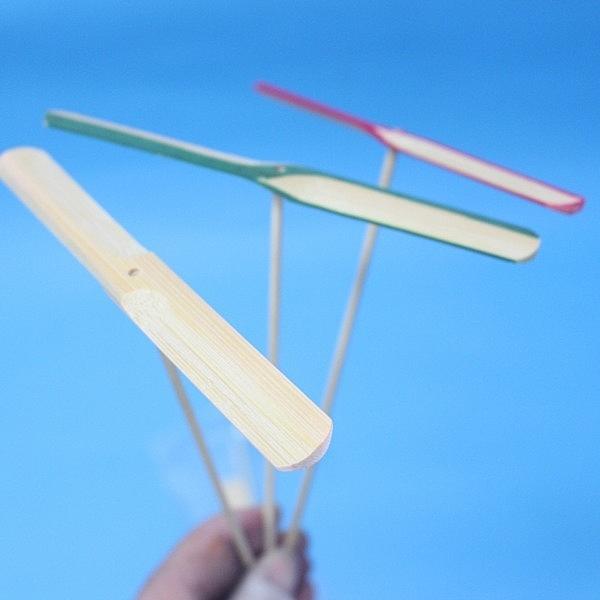 台灣製竹蜻蜓 標準型 竹製竹蜻蜓 【一袋10支入】{定15} 彩繪竹蜻蜓 DIY竹蜻蜓 童玩竹蜻蜓