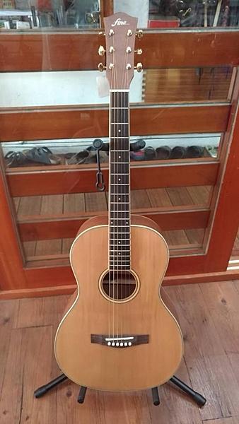 凱傑樂器 FINA FF-150M(S) 民謠吉他 面單板 長型桶身  木吉他