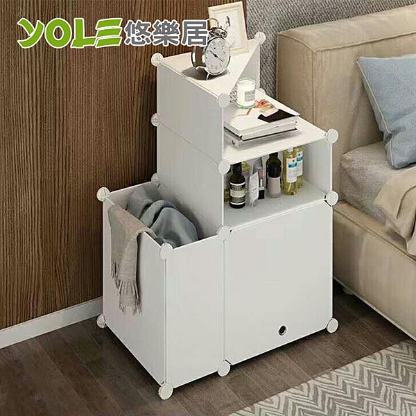 【YOLE悠樂居】隨心DIY百變組合角落置物櫃-1列3層(A-2)#1327063 組合櫃 DIY 置物櫃