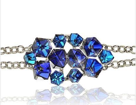 藍水晶 設計手鏈