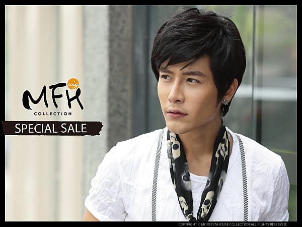 金賢重優質美男髮*【L074002】男生假髮男用假髮◆MFH韓系假髮◆