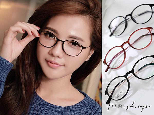 XOXO.TR90塑膠鈦X記憶金屬超細小圓框光學配鏡框眼鏡【p641】*911 SHOP*