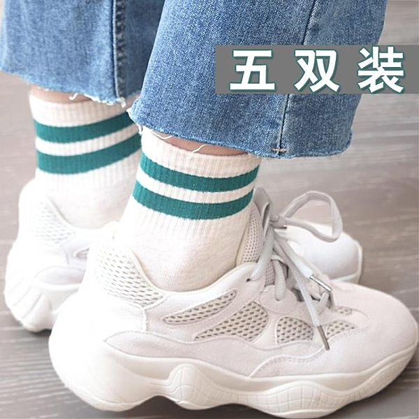 襪子女 秋冬中筒襪學生正韓學院風薄款日系長襪潮百搭【萬聖夜來臨】