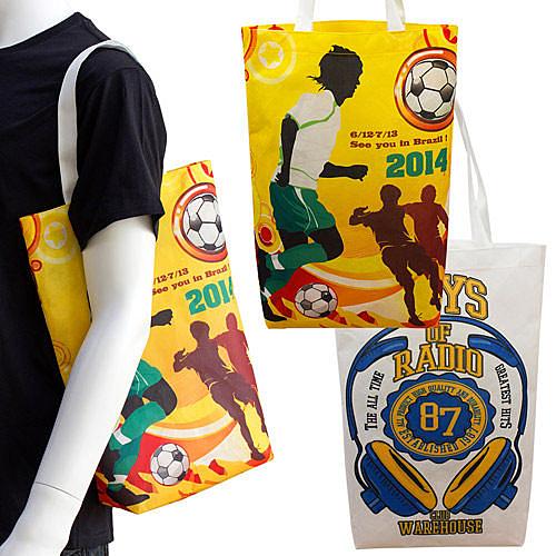 【客製化】環保袋 全彩不織布袋 28x40x8cm 短提把 袋身有底 A90-51100-106