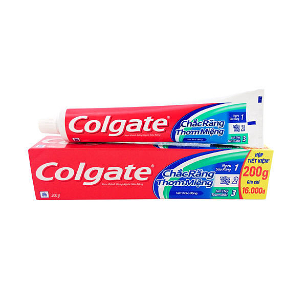 Colgate高露潔 牙膏_三重防護200g/條{嘉家生活網}