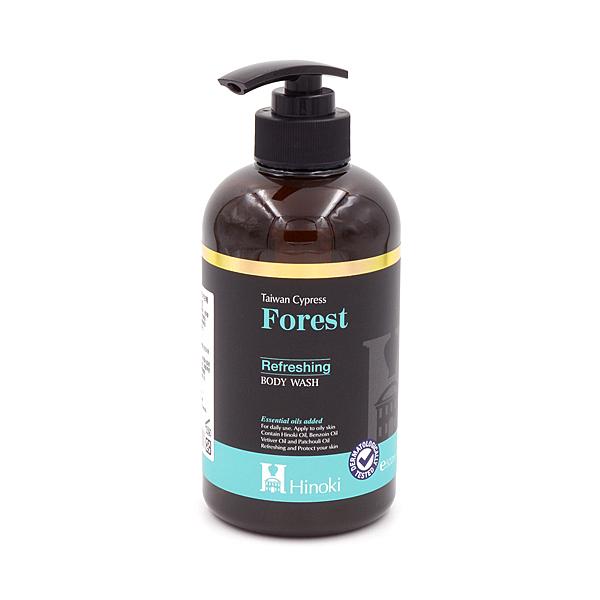 《即期良品》草本森林檜木沐浴精500ml-清爽控油|台灣檜木精油添加