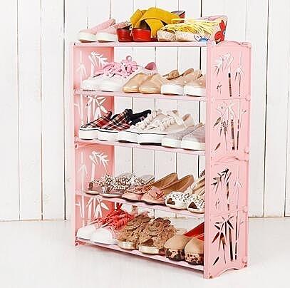 鞋架 家用經濟型簡易鞋架 jy【快速出貨八折下殺】