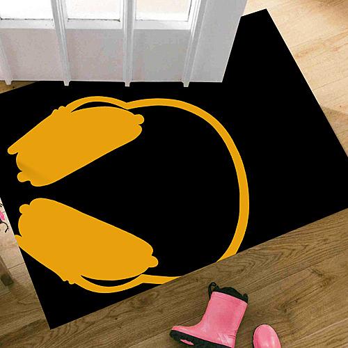 范登伯格-大藝術家 耳機風地毯/踏墊-60x100cm