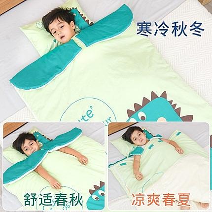 嬰兒睡袋兒童春秋冬季冬款加厚寶寶0-3歲防踢被神器幼兒小孩被子