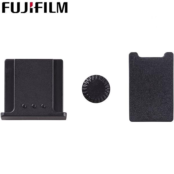 又敗家@原廠Fujifilm電池蓋PC同步端子孔蓋熱靴蓋組CVR-XT1熱靴護蓋PC棚燈孔蓋IR電池手把蓋PC閃燈孔蓋
