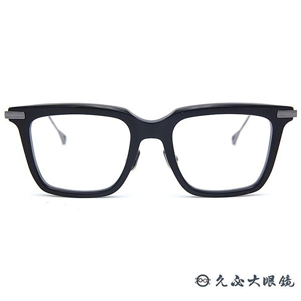 NATIVE SONS 眼鏡 日本手工 方框 近視鏡框 Clark 黑銀 久必大眼鏡