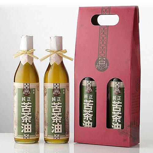【村家味】苦茶油禮盒 (600ml*2瓶/盒)