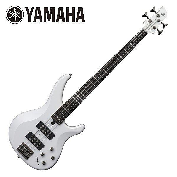 凱傑樂器 YAMAHA TRBX304 WH 白色主動式電貝斯