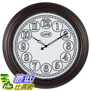 [8美國直購] 撥號掛鐘 La Crosse 18吋 Indoor/Outdoor Lighted Dial Wall Clock A1304851