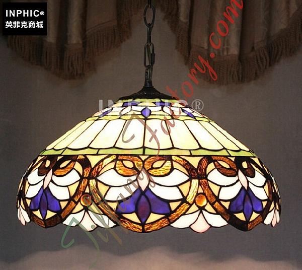 INPHIC-16寸歐式高貴客廳餐廳臥室吊燈酒吧台茶室餐吊單頭家裝燈具_S2626C