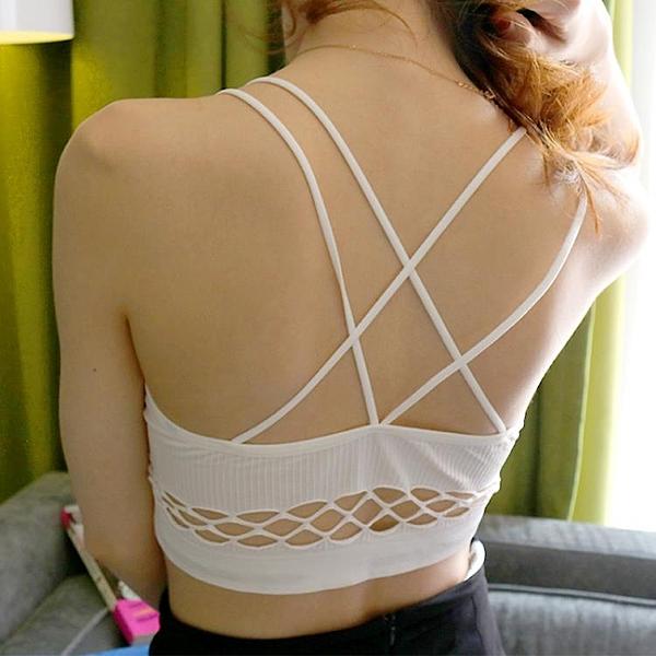 2件裝裹胸上衣女夏抹胸式吊帶背心內衣