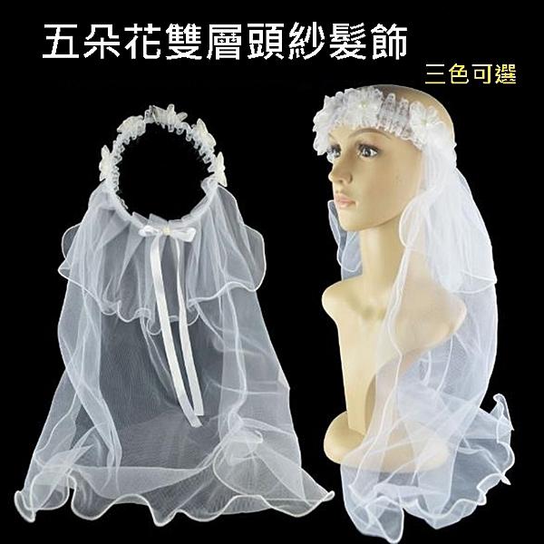 新娘頭紗 花童披紗 新娘花圈 頭紗 頭圈 披紗 頭飾 花圈 家家酒 花童 禮服 婚紗照【塔克】